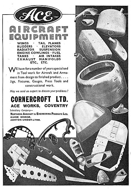 Cornercroft ACE Aircraft Sheet Metal Work