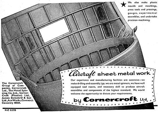 Cornercroft Aircraft Sheet Metal Work