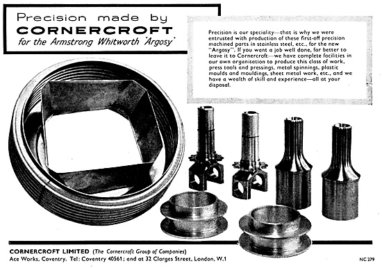 Cornercroft Aircraft Fabrications & Assemblies - Stainless Steel