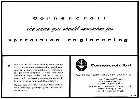 Cornercroft Precision Engineering