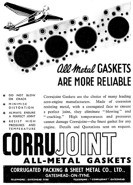 Corrugated Packing & Sheet Metal Co. Gaskets