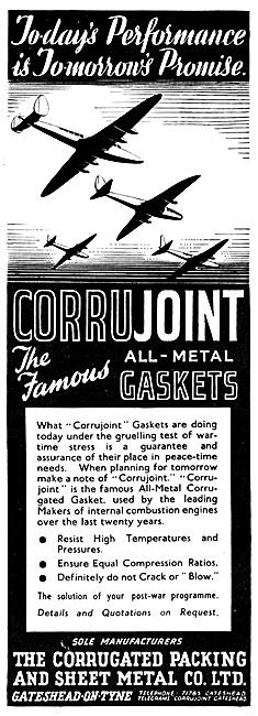 Corrugated Packing & Sheet Metal Co. Metal Gaskets