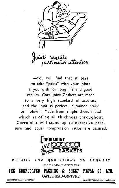 Corrugated Packing & Sheet Metal Co. Corrujoint Metal Gaskets