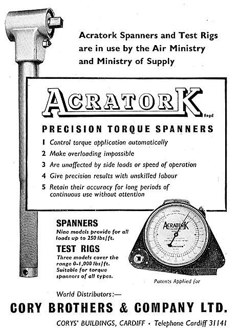 Acratork Precision Torque Spanners