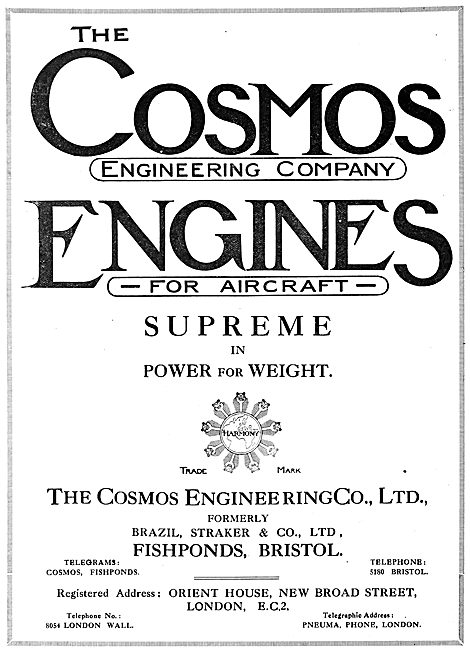 Cosmos  Aero Engines