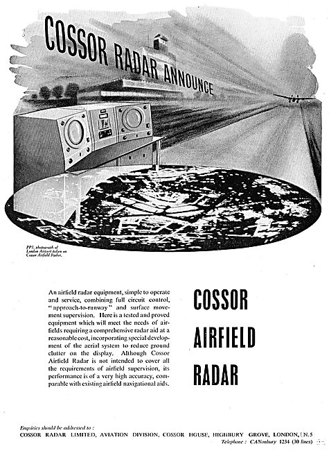 Cossor Airfield Radar