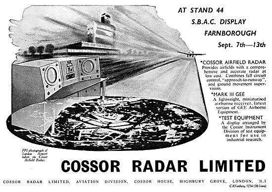Cossor Radar