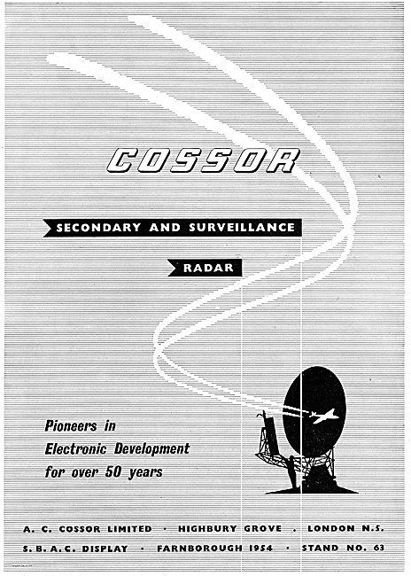 Cossor Secondary & Surveillance Radar