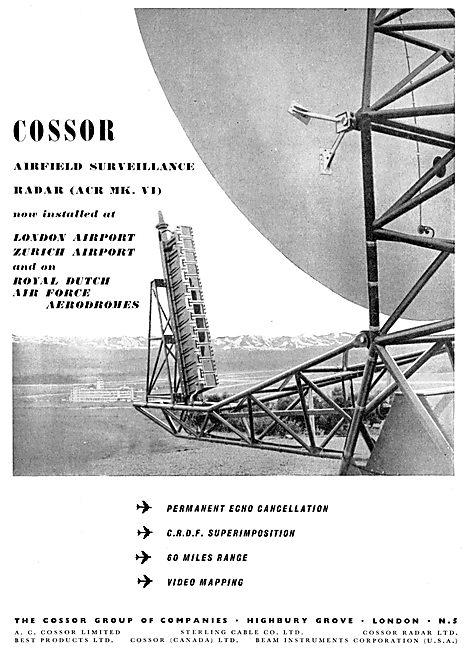 Cossor Airfield Surveillance Radar (ACR Mk VI)