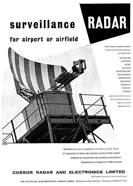 Cossor Surveillance Radar 1959