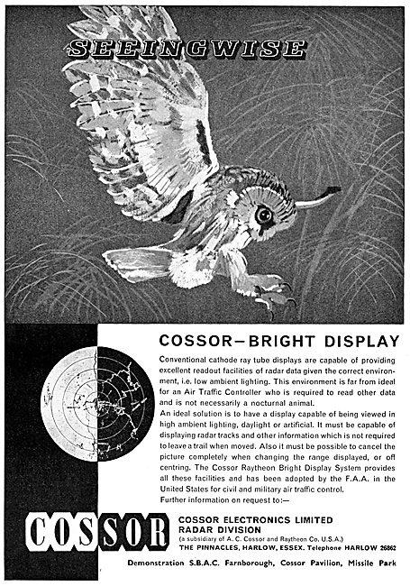 Cossor ATC CRT Displays