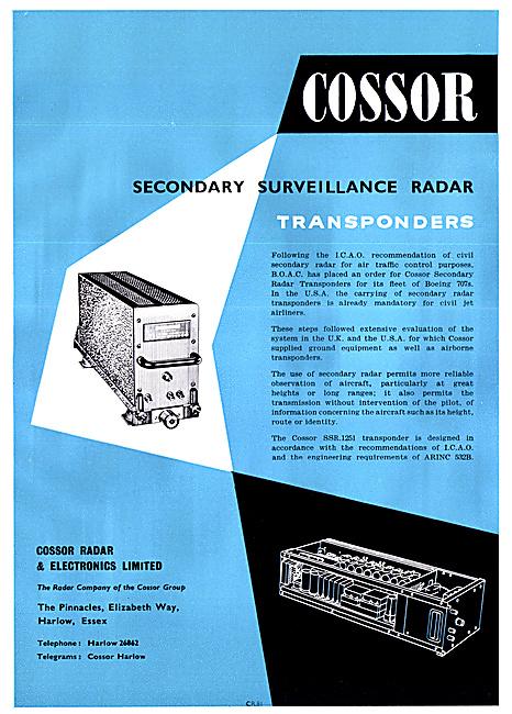 Cossor SSR Transponders