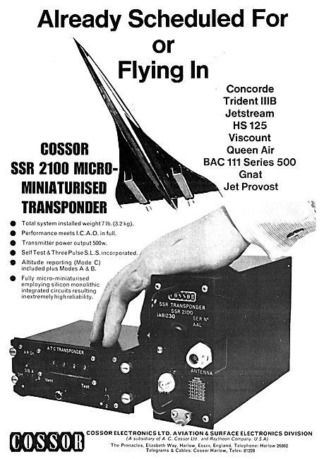 Cossor Avionics - SSR 2100 Transponder
