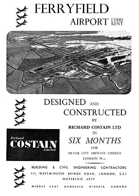Costain Civil Engineering. Ferryfield Airport. Lydd