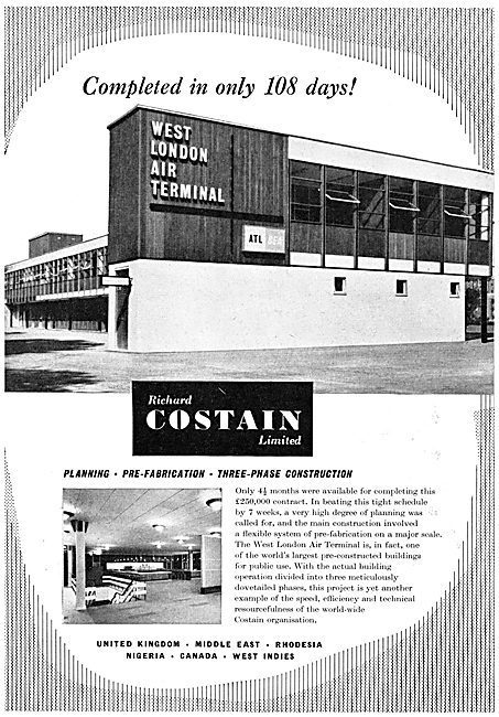 Costain Civil Engineers - West London Air Terminal