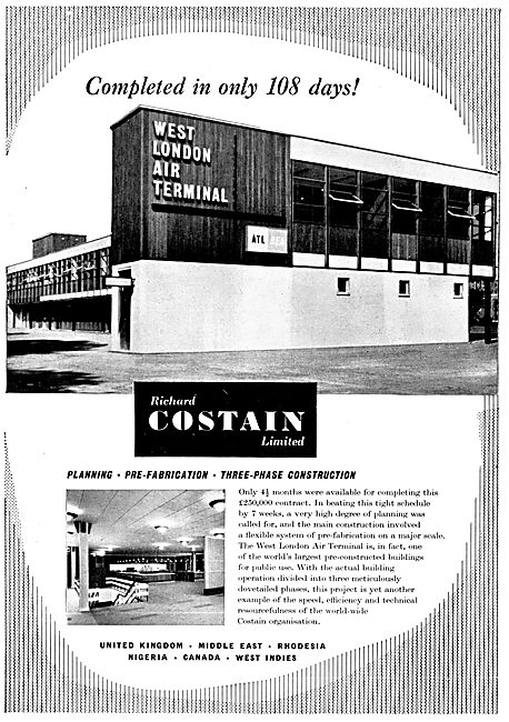Costain Civil Engineering, West London Air Terminal