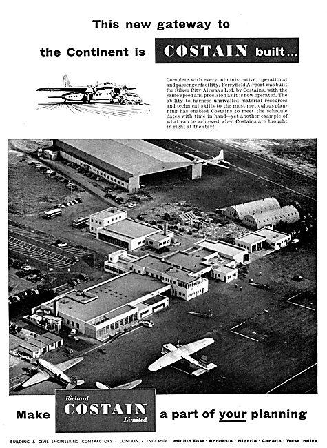 Costain Civil Engineering. Ferryfeld Airport Lydd