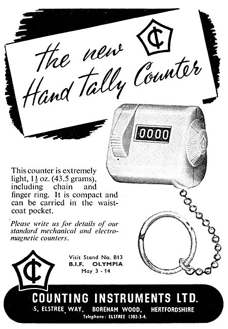 Counting Instruments Hand Tally Counter