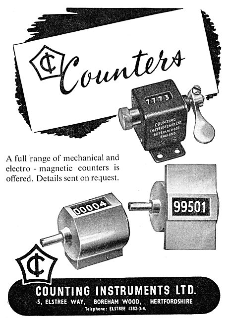 Counting Instruments Electro-Magnetic Counters