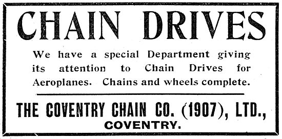 The Coventry Chain Co. Chains & Chain Drives