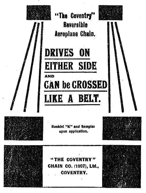 The Coventry Reversible Aeroplane Chain
