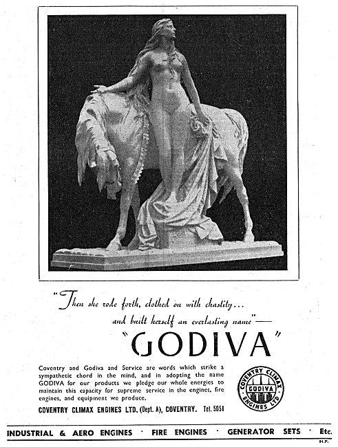 Coventry Climax Godiva Trailer Fire Engine