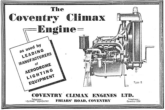 Coventry Climax Aero Engine
