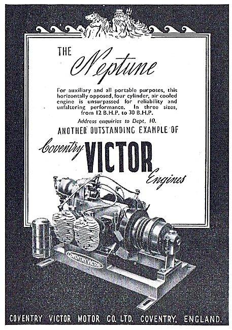 Coventry Victor Neptune Stationary Engine