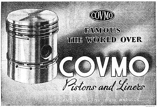 Covmo  Pistons & Liners