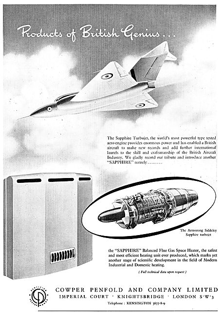 Cowper Penfold Space Heaters