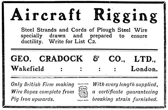 George Cradock - Wire Ropes : Aircraft Rigging