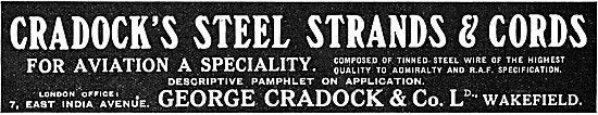 George Cradock Steel Strands For Aviation A Speciality