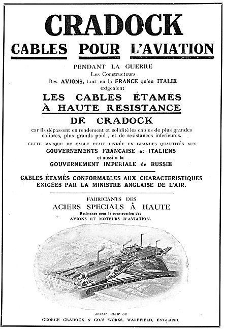 Cradock's Cables Pour L'Aviation