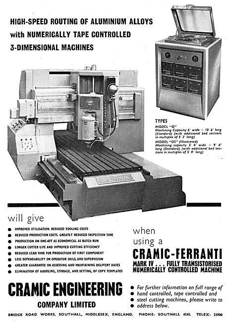 Cramic Engineering - High Speed Aluminium Routing Machine