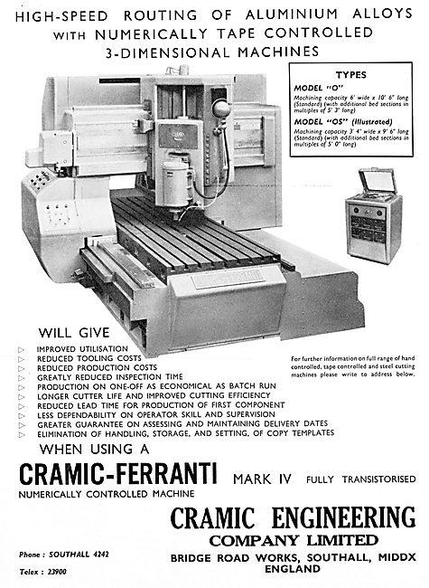 Cramic-Ferranti Mk IV Transistorised Numericall Controlled
