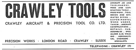 Crawley Tools - Precision Engineering, Jigs & Tools