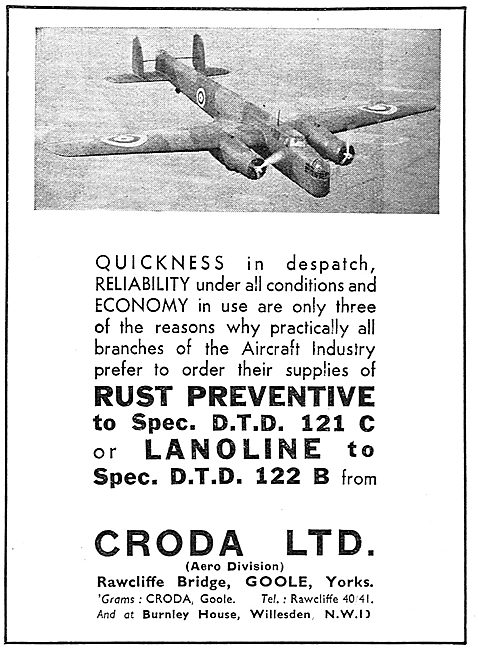 Croda Rust Preventative DTD 121 C - Lanoline 122 B