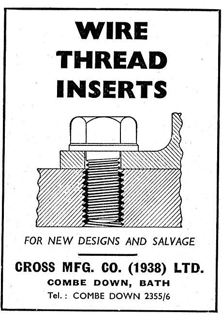 Cross MFG Wire Thread Inserts