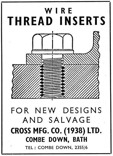 Cross Wire Thread Inserts
