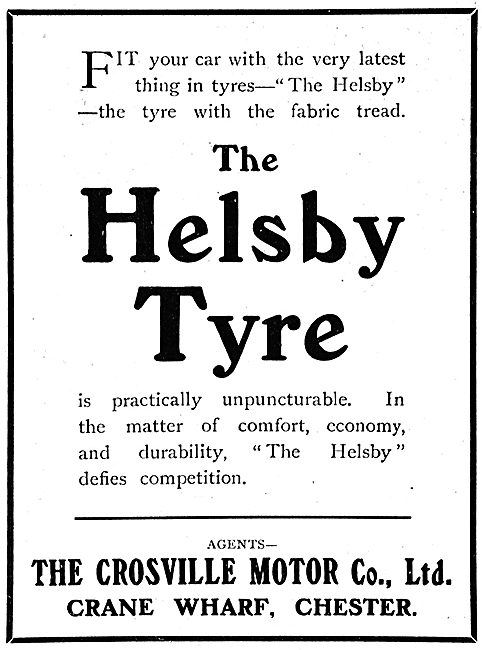 The Crossville Motor Co: The Helsby Tyre