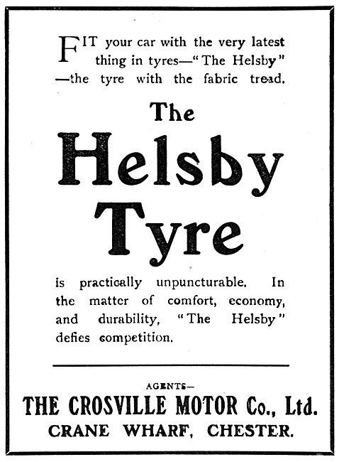 The Crossville Motor Co. Helsby Tyre