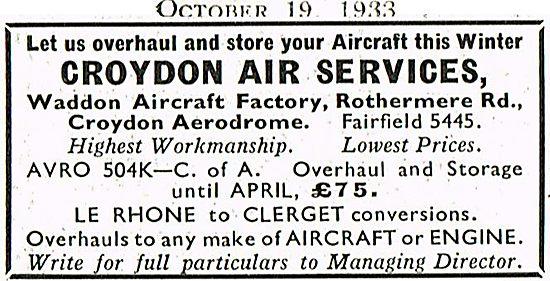 Croydon Air Services