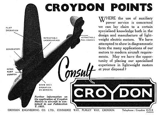 Croydon Engineering Aicraft Components