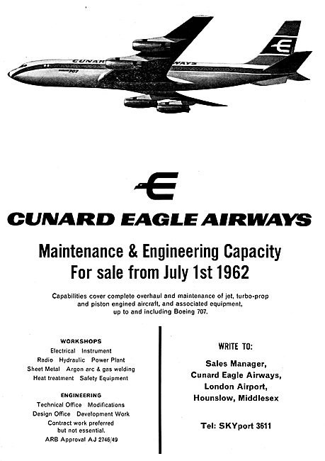 Cunard Eagle Airways