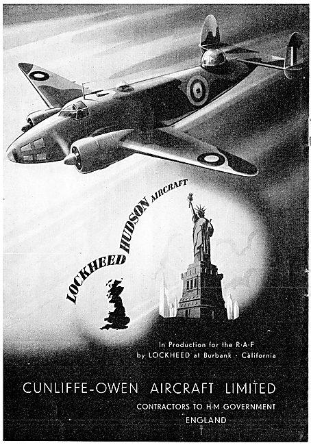 Cunliffe-Owen : Lockheed Hudson