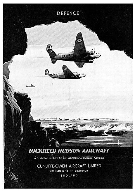 Cunliffe-Owen Manufactruring Lockheed Hudsons For Coastal Command