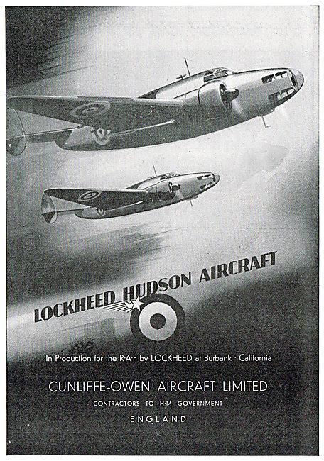 Cunliffe-Owen - Lockheed Hudson