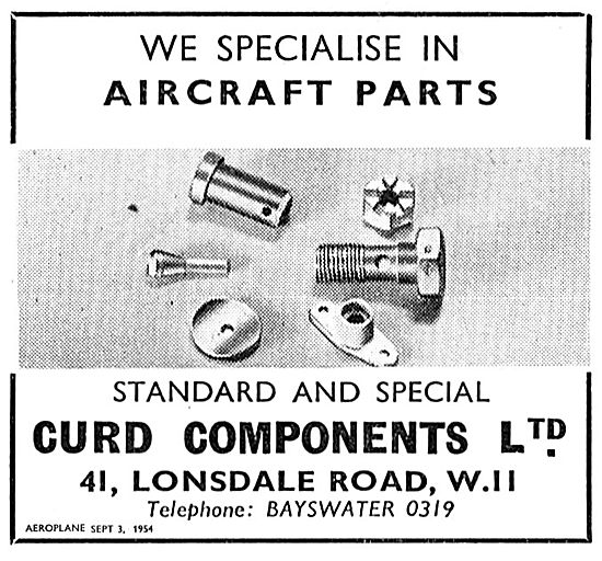 Curd Standard & Special Aircraft Parts