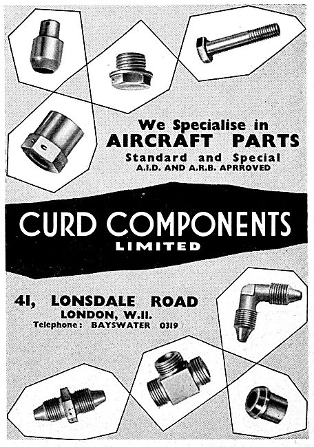 Curd Components. AGS Parts