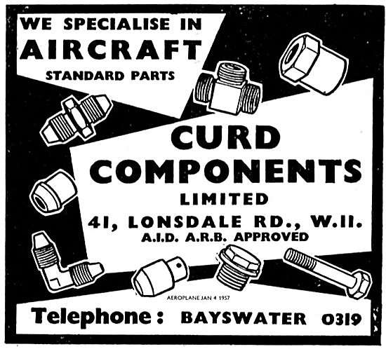 Curd Components Aircraft Standard Parts